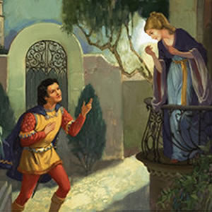 romeo juliet balcony scene William shakespeare: romeo and juliet (c 1591)the balcony scene (act 2, scene 2) november 4, 2016 elizabethwasson romeo and juliet is one of shakespeare's most beloved plays, having been turned into paintings, ballets, and several operas.